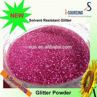 High quality glitter powder for heat transfer vinyl decoration, colored glitter powder