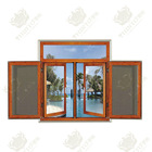 High quality With Stainless Steel Mosquito net Aluminum windows factory price in foshan