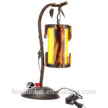 Hotel modern metal art table lamp