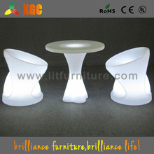 plastic party chairs and tables/modern garden table/bright colored coffee table