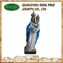 Resin Virgin Mary Statue Our Lady Figurine For Home Decoration