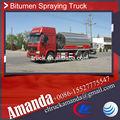 Howo pesado asfalto camión cisterna 10.5 cbm con 266hp motor para la venta