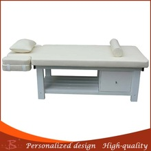 wooden physiotherapy bed wooden furnishing used aesthetic center wooden comfortable facial table supplier