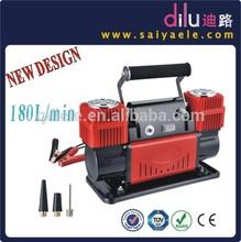 DC12V Car air Compressor, heavy duty air compressor,air compressor, air pump, 180L/min air compressor,double cylinders air pump