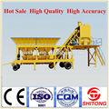 Yhzs25( 25m3/h) de alta qualidade feitos na china ce certificado portátil mini mobile planta de mistura concreta e misturador de concreto celular