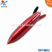 kids personalized rocket shape ballpoint pen