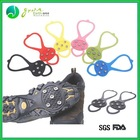 Promotional Safe rubber anti-slip climbing snow shoes Crampons