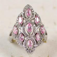 Latest Rhodium Plated Zircon Fashion Brass Jewelry Manufacturer