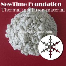 White heat resistance mineral fiber insulation