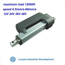 12v linear actuator for TV lifting tables