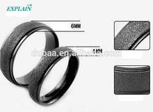 Wedding Ring Sand Polishing Couples Rings Fashion Jewelry Titanium Ring