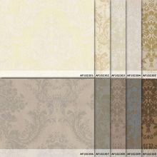 2014 new italuxu decorative pvc embossed wallpaper, antique rose flower wallpaper