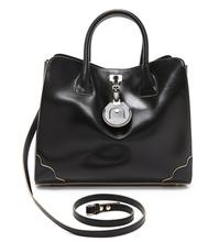 2014 office lady leather big stylish h and m European design scottish handbags RO657