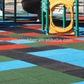 Pneus recyclés plancher/revêtement en caoutchouc aire de jeux