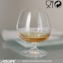 ASG1906-170ml 6oz Short Stem Brandy Glass Snifters!Germany Machine Made Tech. Glass Stemware!Machine Made Brandy Glass Stemware