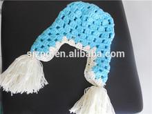 China factory wholesale hand made baby visor caps crochet