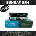 WM 2014 Sunray sr4 800 hd se triple tuner- s2/- c/- t satelliten-receiver