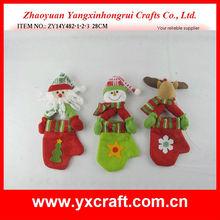 Christmas mitten ZY14Y482-1-2-3 28CM plush christmas tree toy