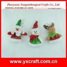 Christmas ornament ZY14Y308-1-2-3 14CM fabric angels