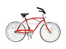 Cheap Beach Cruiser Bike Specia Beach Bike bicycle Factory Red Beach Cruiser BikeSW-BC-C14