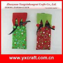 Christmas wine bag ZY14Y414-1-2 33CM decorative santa
