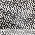 2014 venda superior design simples turquesa de confecção de malhas do laço de veludo tecido