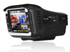 1080p 5.0MP high resolution 170degree wide view car dvr with GPS radar detector all in 1