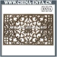 Rectangular door mat