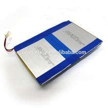 Li batteria ai polimeri di 3.7v batterie al litio ricaricabili 5600 mAh per smartphone, del computer portatile, radio, aspirapolvere