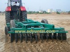 wheel type heavy duty offset disc harrow
