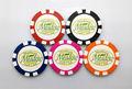 Benutzerdefinierte druck 14,5 gramm ton poker-chip