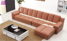 imported leather sofa/cheap genuine leather sofa