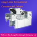 hc62 cor única heidelberg gto 46 máquina de impressão offset