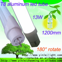 CB CE SAA TUV and KC Approval 2014 ape tube tube high brightness rotating end cap 3014smd led chinese red tube korea t8 5600K