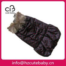 bowknots for girls winter dog dresses