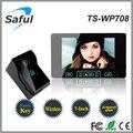 أفضل مورد شنتشن saful ts-wp708 2.4 غيغاهرتز/ 300m/ اللاسلكية/ 7 بوصة/ كاميرا مضادة للماء في الهواء الطلق مع صورة الفيديو باب الهاتف