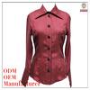 Women high quality 100%cupro spring fashion 2014 ladies tops latest design