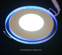 3D effect bule +white color 18W decorative ceiling led light panel