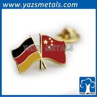YAZS Metals 2014 high quality dual layer custom lapel pins