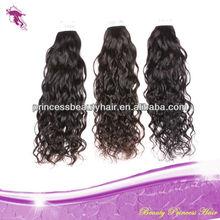 Noble and elegant virgin brazilian natural wave hair