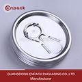 De aluminio de 209 # de latas de bebidas y tapas para el jugo de embalaje