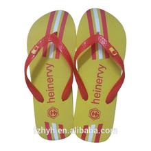 Cheap football team beach flip flops slippers for men,football shoes