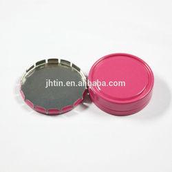 alibaba china 15ml click clack small gear box round cosmetic tin box