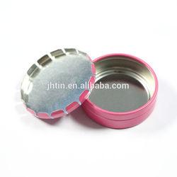 new product 15ml click clack small gear box round cosmetic box