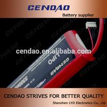 cendao excellent quality battery 11.1v 35c discharging 3S1P 3300mah portable 5v lipo battery power bank