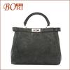 2014 Bori Genuine leather weekender travel tote bag