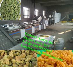dry fruit progressing machine/raisin processing machine/raisins cleaning machine