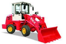 zl10 china 4x4 mini articulated front end mini loader