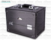 Leather professional soft side wood makeup/cosmetic storage case box PVC-2133-1