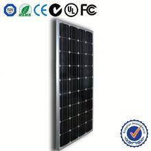 High power efficiency Monocrystalline solar panel tempered glass